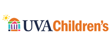 UVA Children's full color logo with a white background